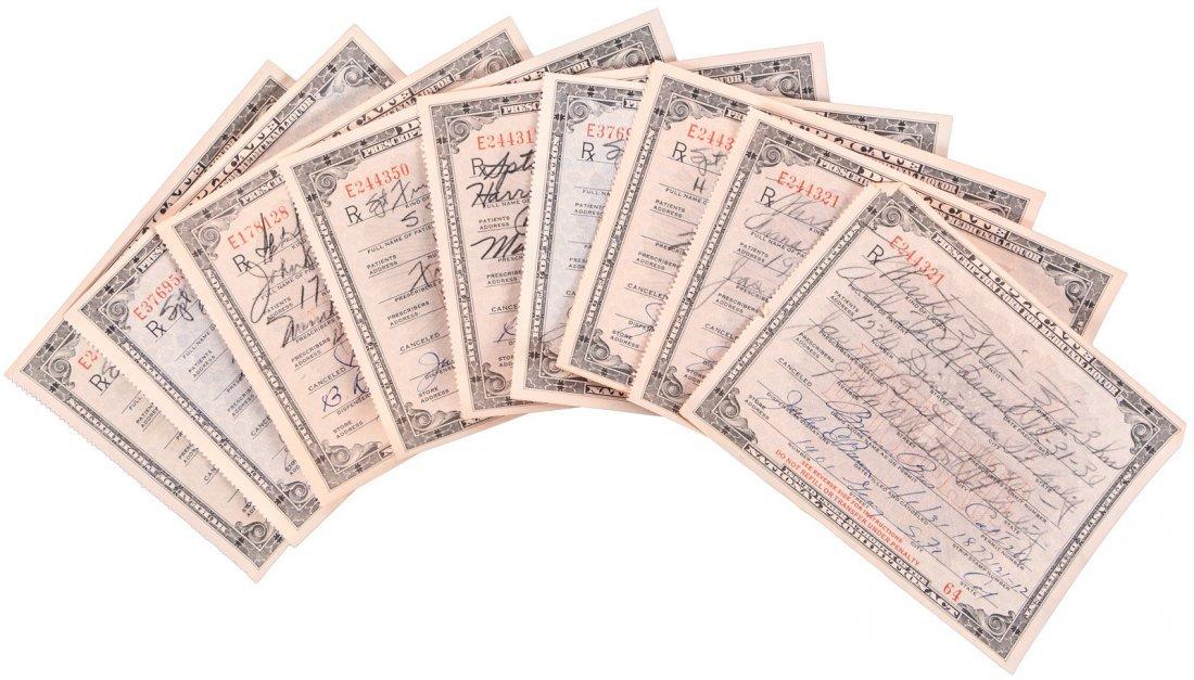 Prescription Forms For Medicinal Liquor