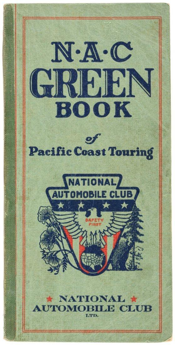 Motoring maps of West Coast 1931