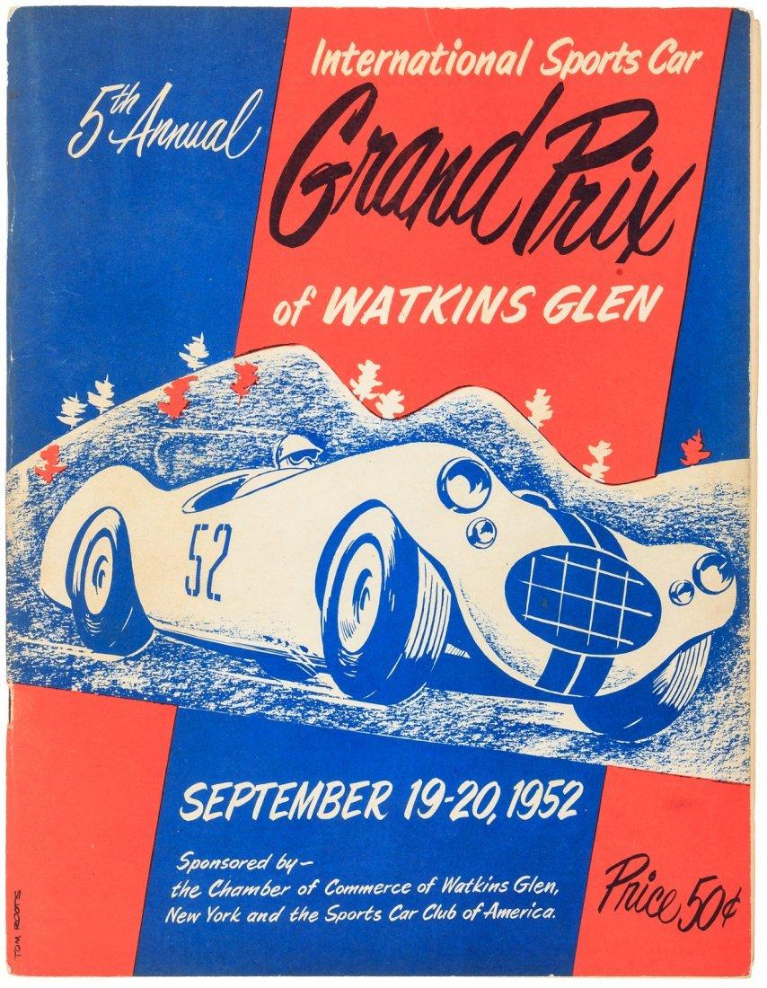Program for the Watkins Glen Grand Prix 1952