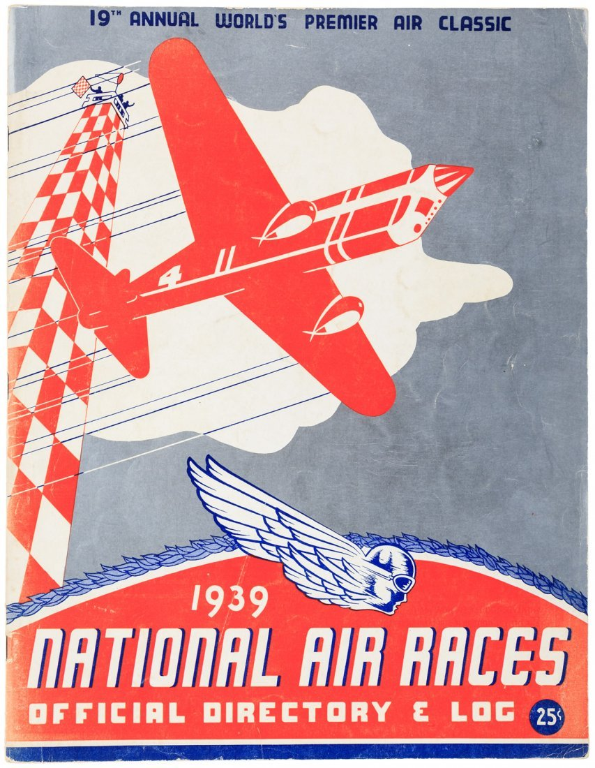 Program for the 1939 National Air Races
