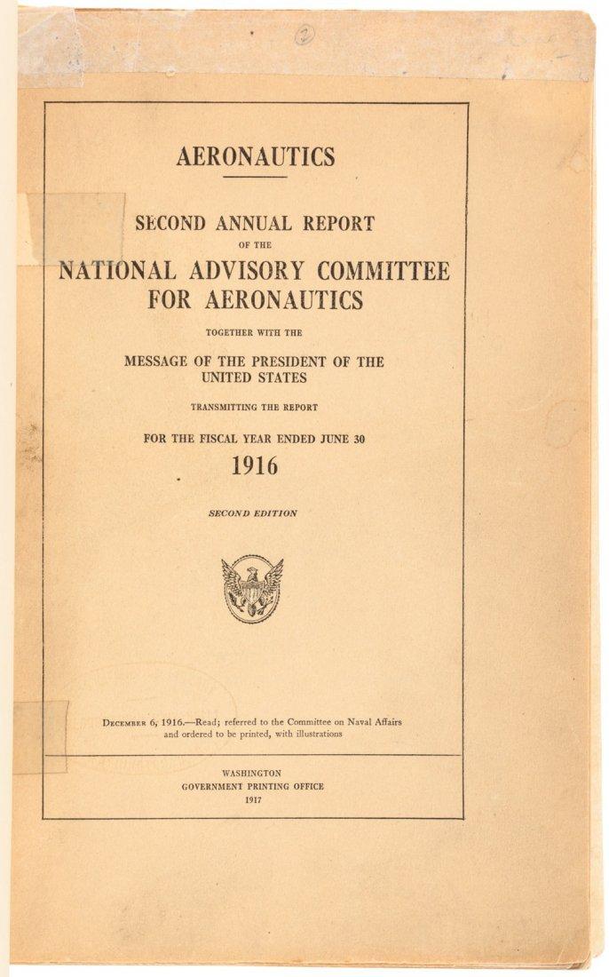 State of U.S. Aeronautics 1916