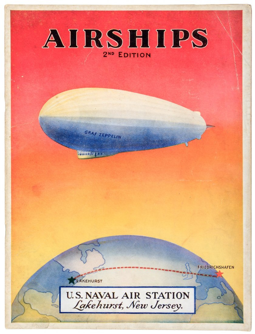 Rare booklet on Airships 1929