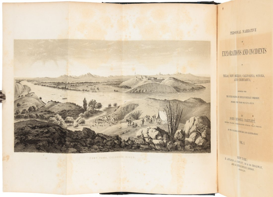 J.R. Bartlett's Personal Narrative of Exploration