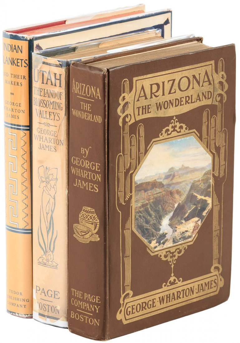 Three Volumes of Western Americana, George Wharton