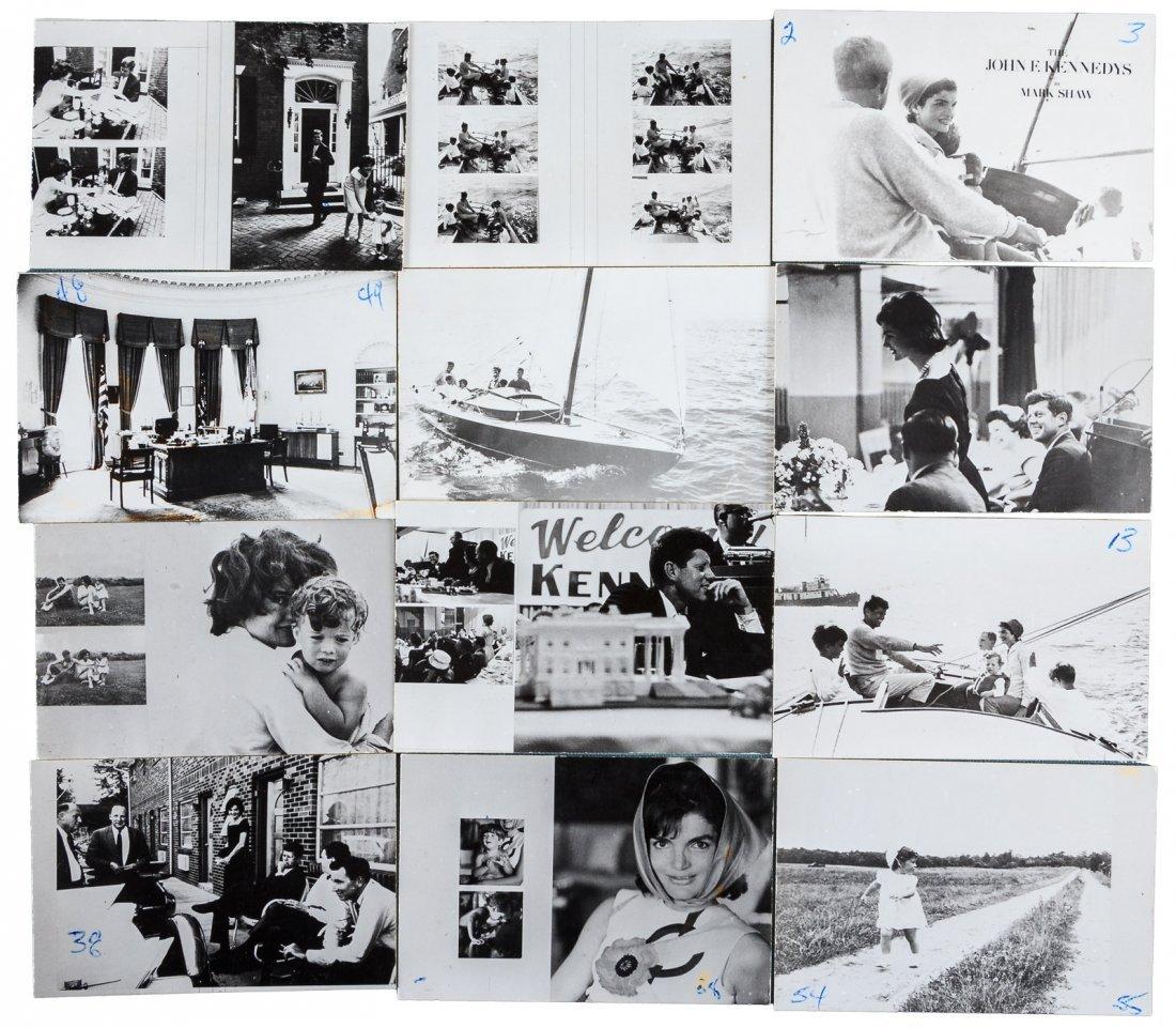 Mark Shaw's original photographs of the John F. Kennedy