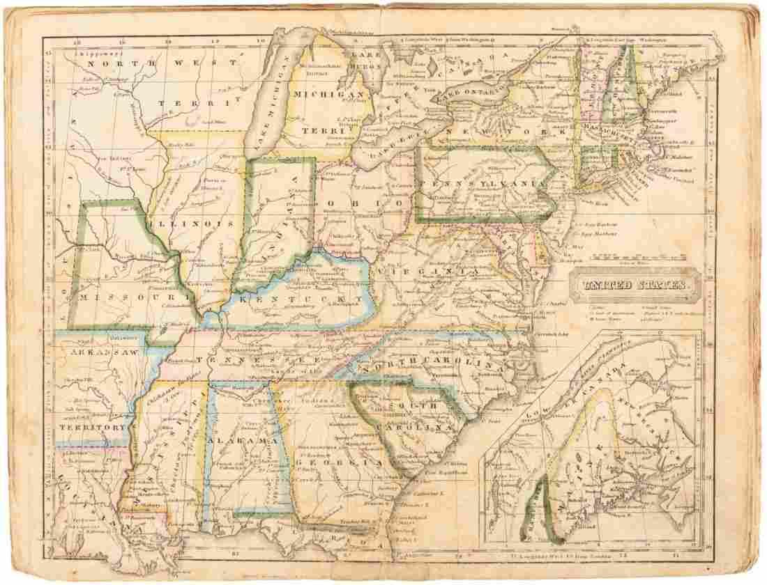 School Atlas to Accompany Woodbridge's Rudiments of