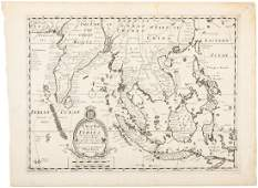 Wells map of East Indies 1700