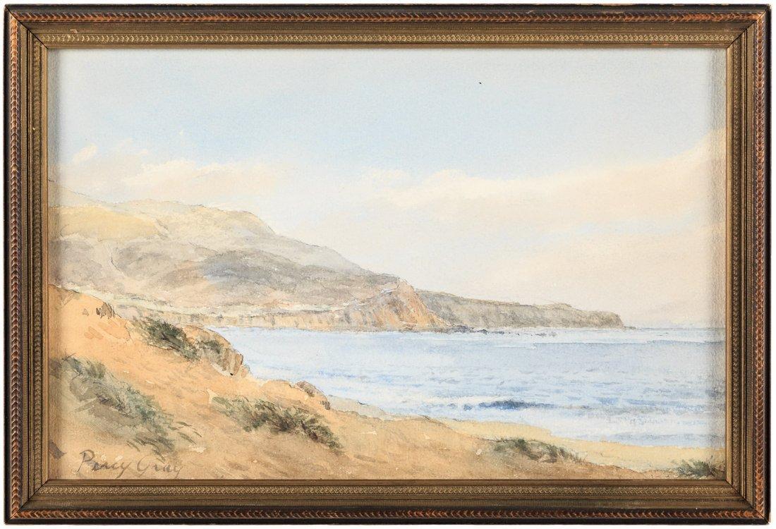 Percy Gray painting of the California coast