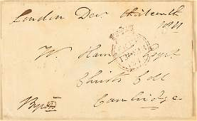 Works of Lord Byron with letter and signed envelope