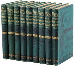 Vick's Illustrated Monthly Magazine Volumes 1-9