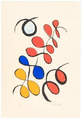 Alexander Calder Color Lithograph Signed
