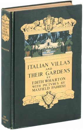 Italian Villas By Edith Wharton Illustrated By Maxfield