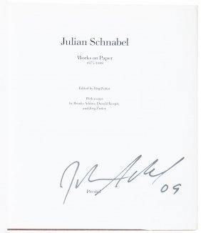 Signed Julian Schnabel
