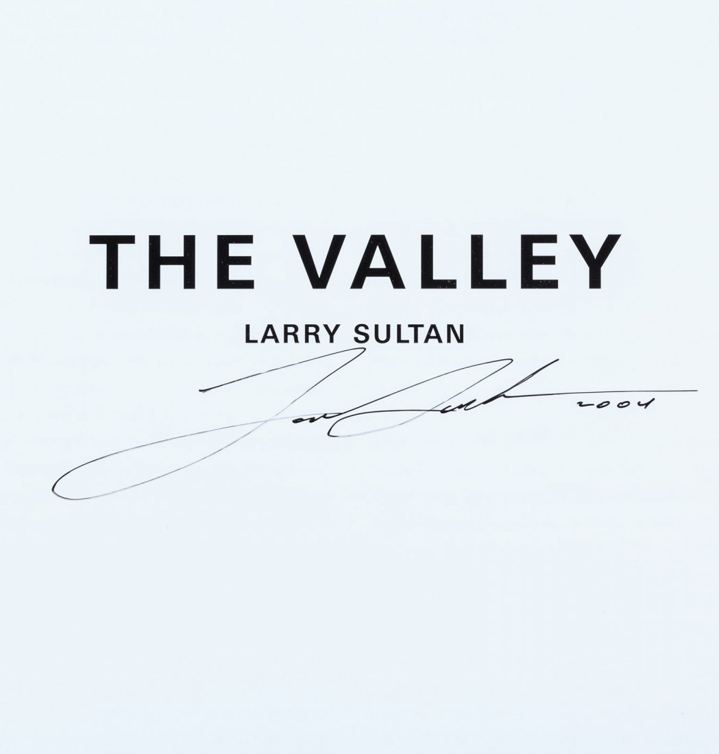 Larry Sultan's The Valley, Signed - 2