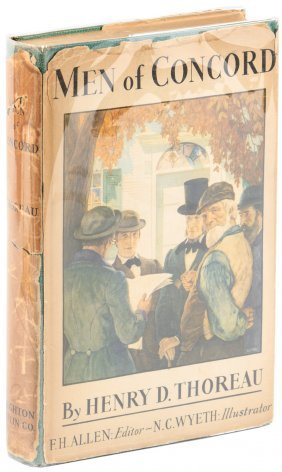 Men Of Concord Illustrated By N.c. Wyeth And Andrew