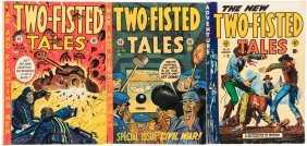 Three Issues Of Two-fisted Tales