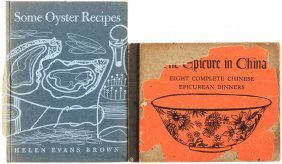 Two Fine Press Books On Cooking