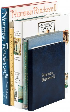 Norman Rockwell, Five Volumes