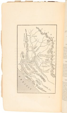 Brooks/vizetelley: Gold Finders In California With Map