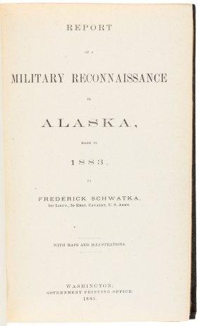 Schwatka Explores Alaska With Maps 1885
