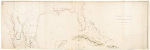 Arroswmith chart of Gulf Coast w/Texas 1802