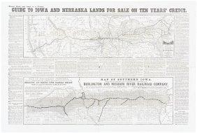 Railroad Lands In Iowa And Nebraska For Sale 1873