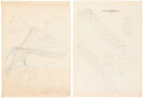 Maury Nautical Charts 1852