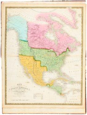 Mitchell's 1831 Atlas In Folio Format