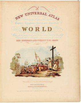 Mitchell's Universal Atlas 1853