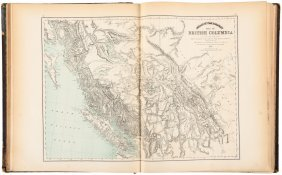Uncommon Atlas Of Canada 1875