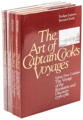 The Art Of Captain Cook's Voyages In 4 Volumes