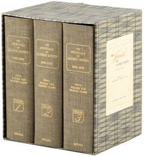 The Journals Of Alfred Doten, 1849-1903