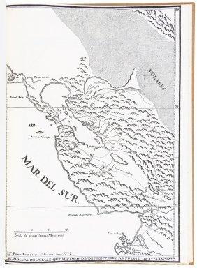 San Francisco Bay And California In 1776, 1/125