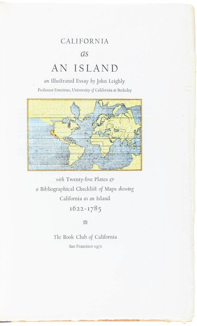 John Leighly California As An Island 1/450 copies