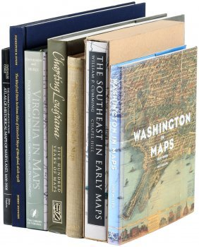 Seven Volumes On Southern United States Cartography