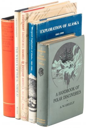 Eighteen Volumes - Most On Alaska And Russian America