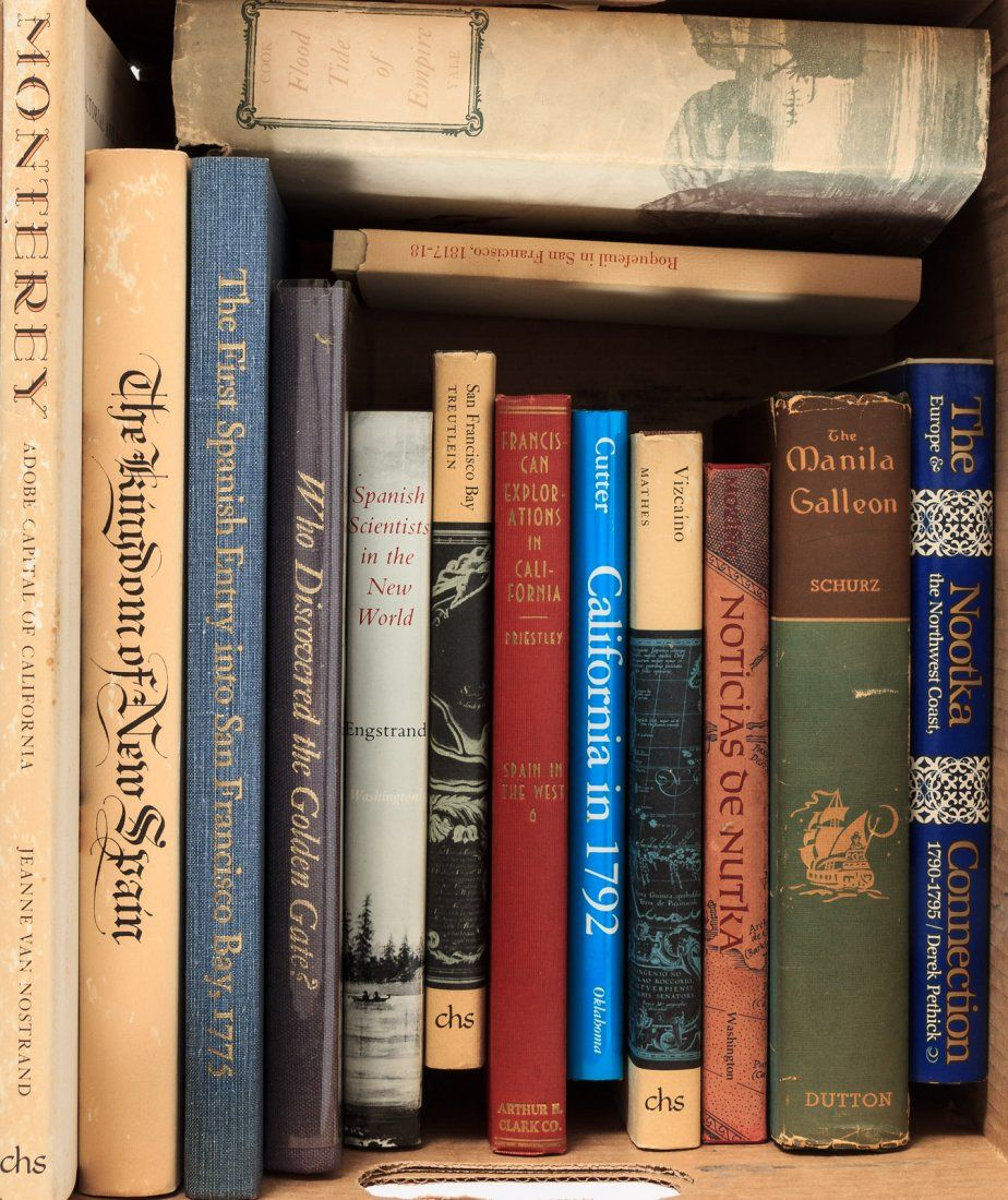 Fourteen Volumes on Spanish Exploration