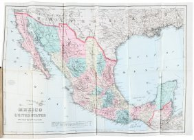 Mexico, And The United States, Gorham Abbot, 1869.