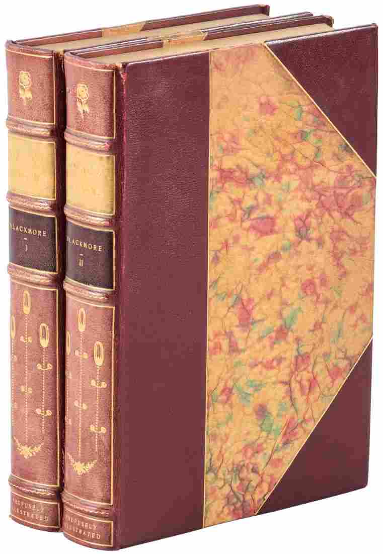 Blackmore's Lorna Doone finely bound