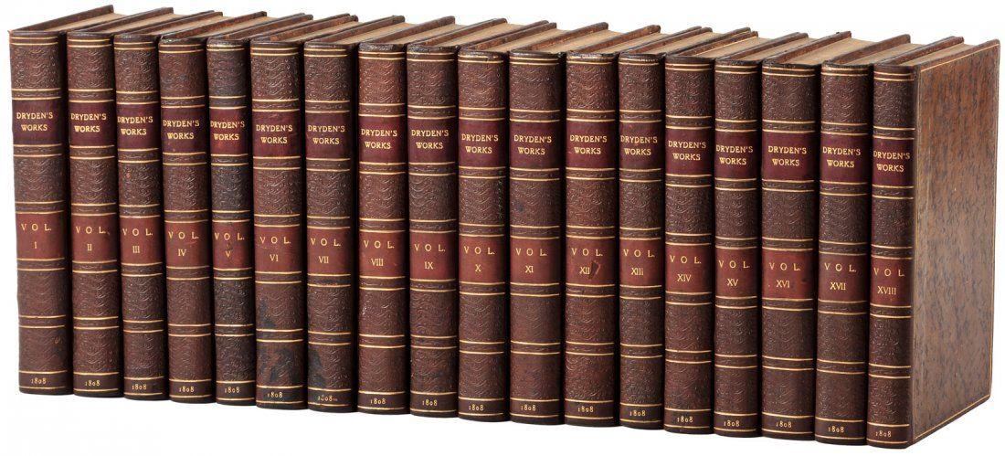 Complete works of John Dryden 1808