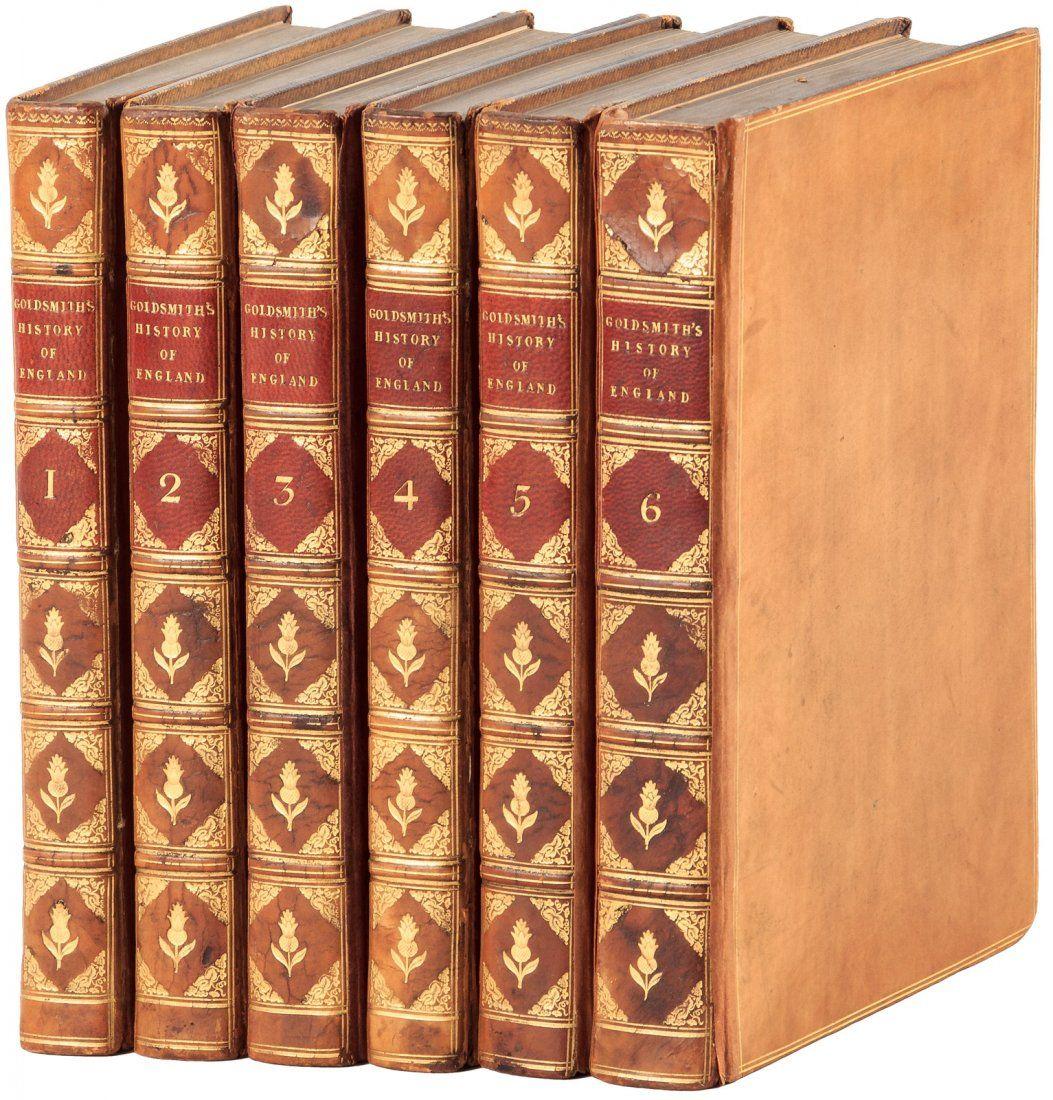 Goldsmith's History of England 1825 Finely Bound