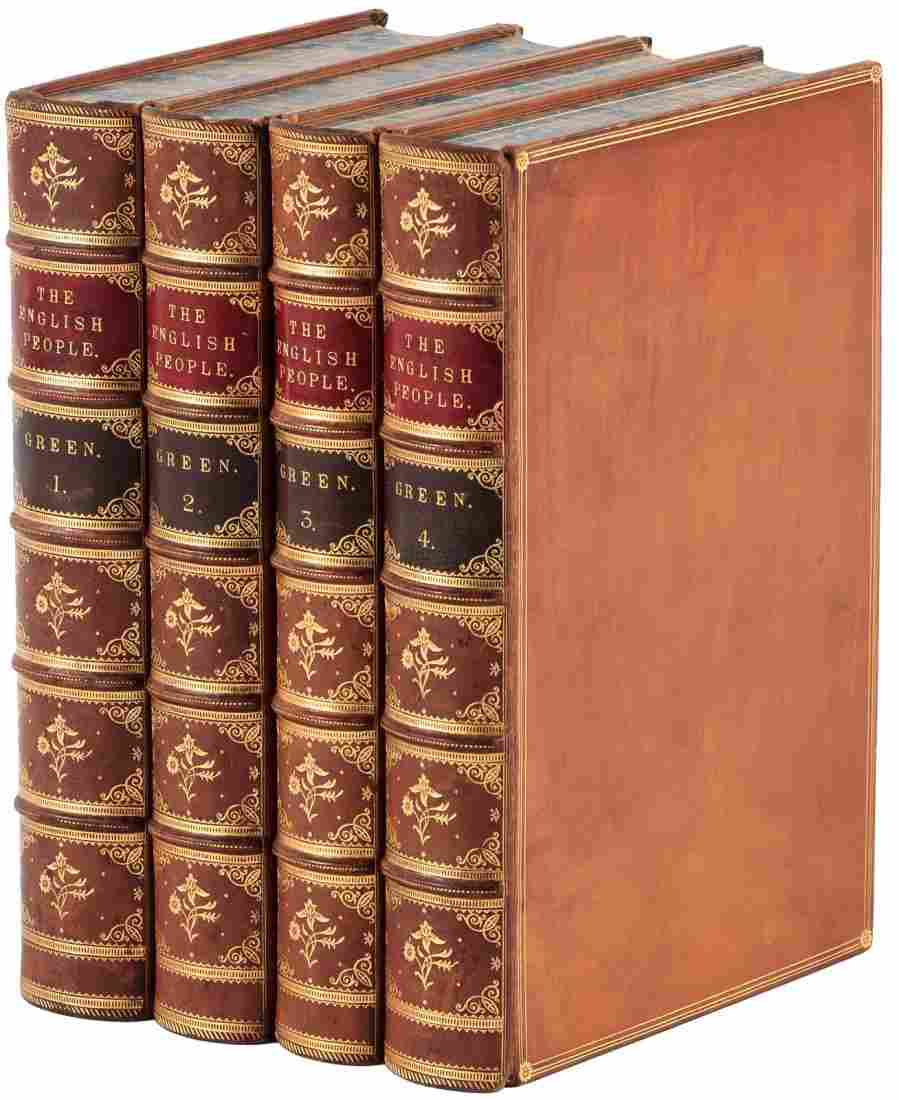 Green's History of the English People finely bound
