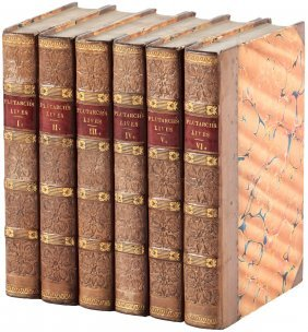 Plutarch's Lives Finely Bound