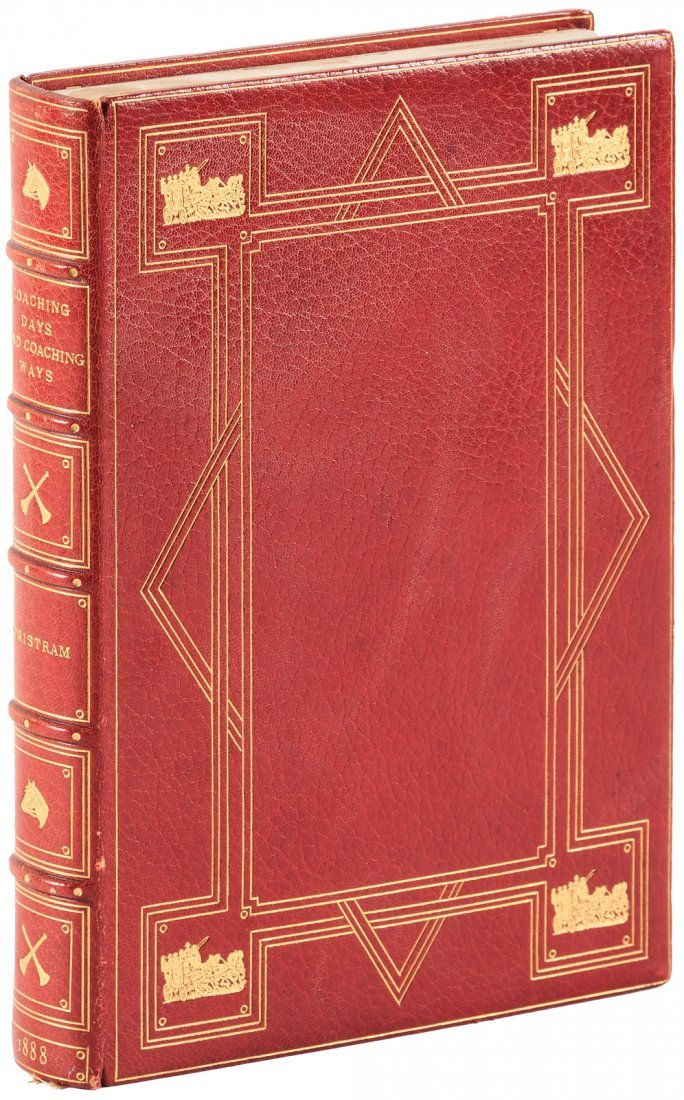 Coaching Days and Ways finely bound by Bayntun