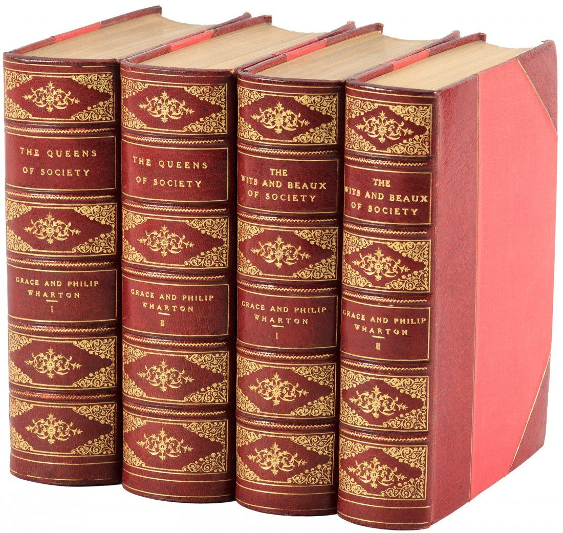 2 finely bound works by Grace & Philip Wharton