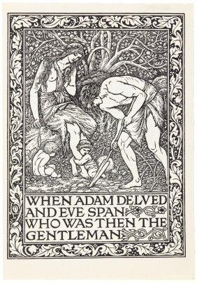 Ancoats Brotherhood Printed By Kelmscott Press