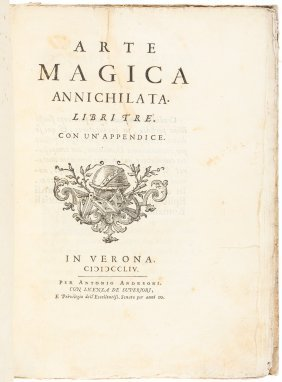 18th Century Work Denying Witchcraft And Magic