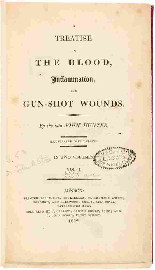 A Treatise on the Blood, Inflammation and Gun-Shot