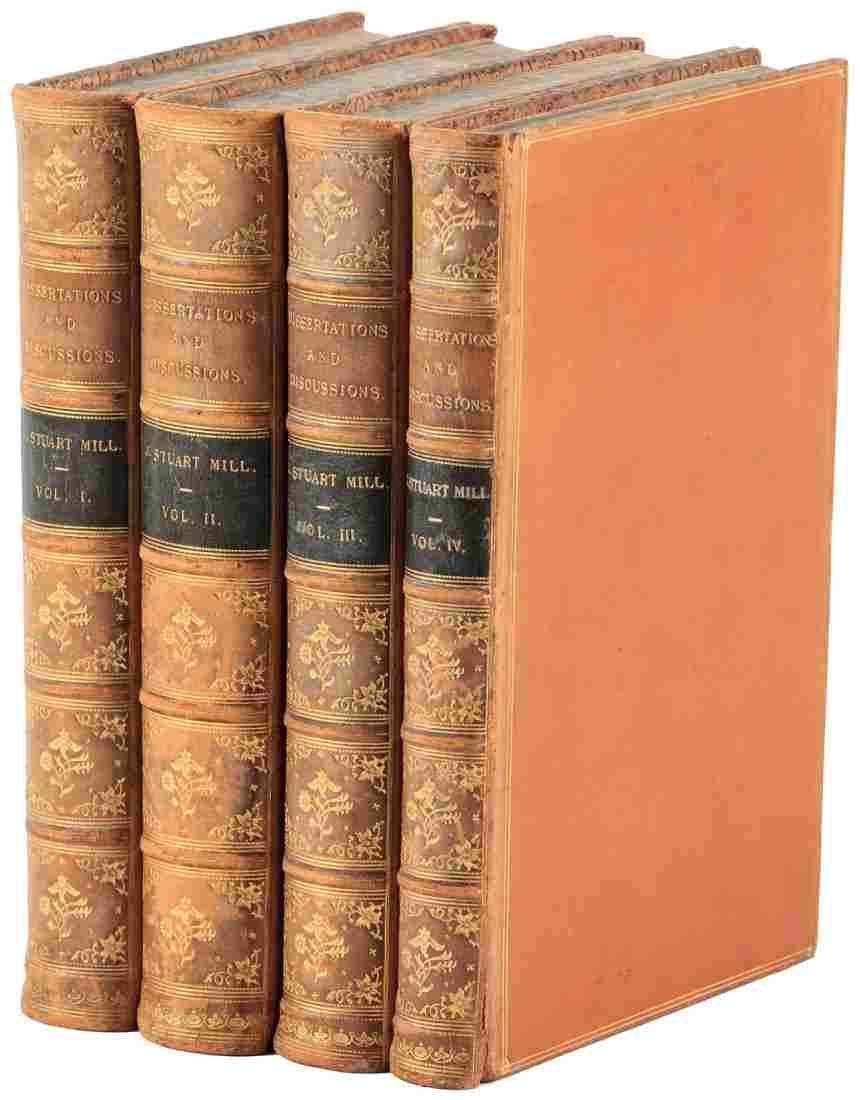 John Stuart Mill Dissertations and Discussions