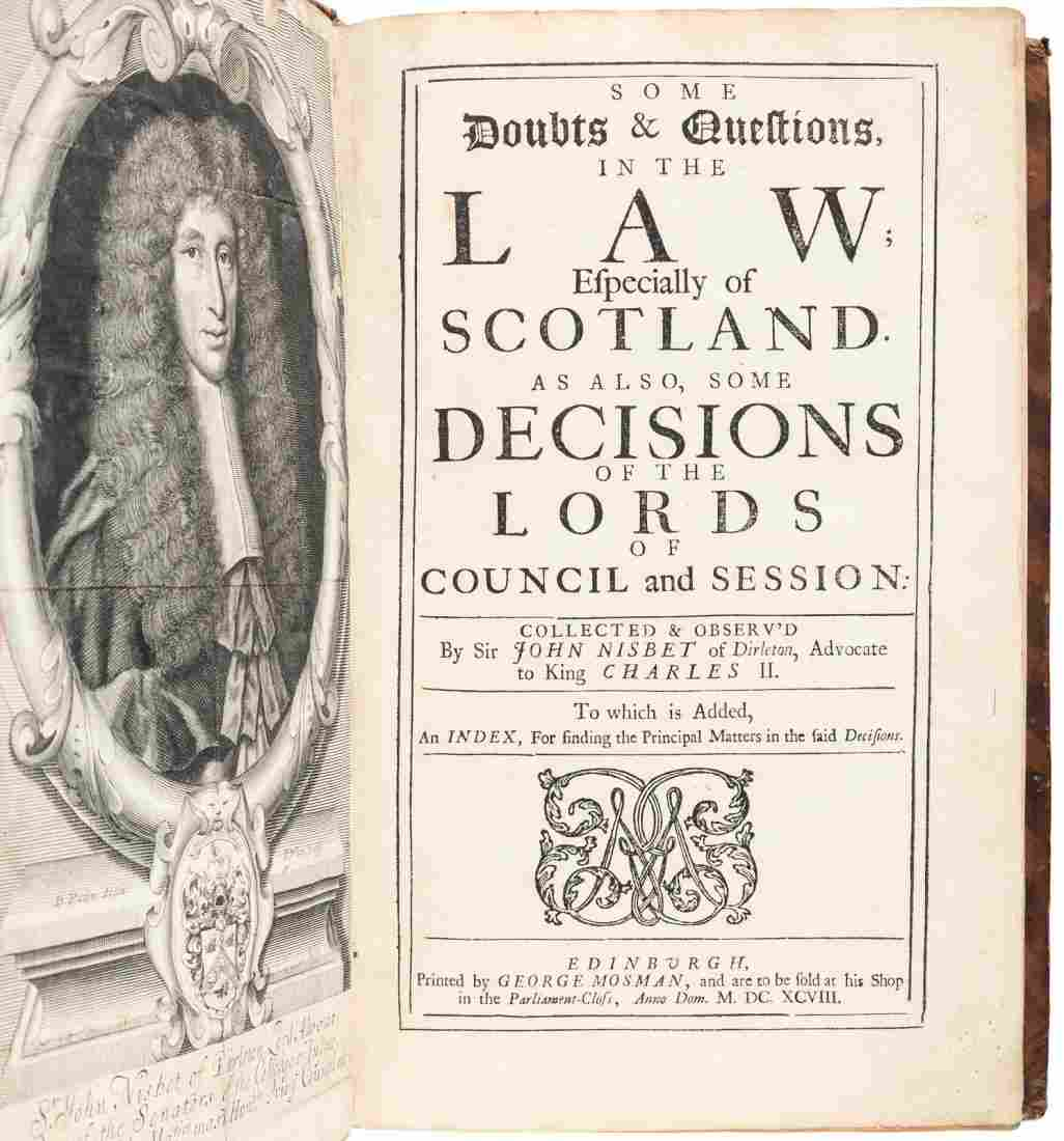 Doubts & Questions in the Law 1698